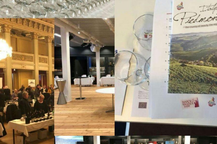 GRANDE SUCCESSO PER IL TOUR DEI VINI PIEMONTESI  IN NORVEGIA