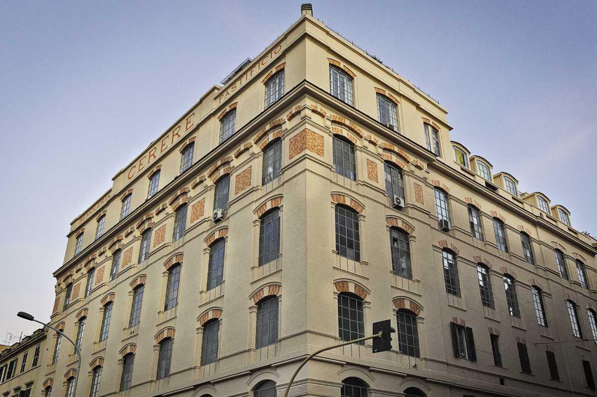 Palazzo Ex Pastificio Cerere, Creditis Ottavio Celestino, Courtesy Fondazione Pastificio Cerere